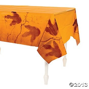 "Dinosaur Party Table Cover, 54"" x 108"" by Party Supplies"
