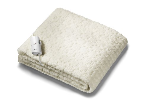 Beurer Monogram Tranquility Fully Fitted Fleecy Double Size Heated Underblanket and Mattress Cover