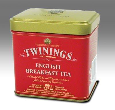 Twinings English Breakfast Tea, Loose Tea, 3.53 Ounce Tin