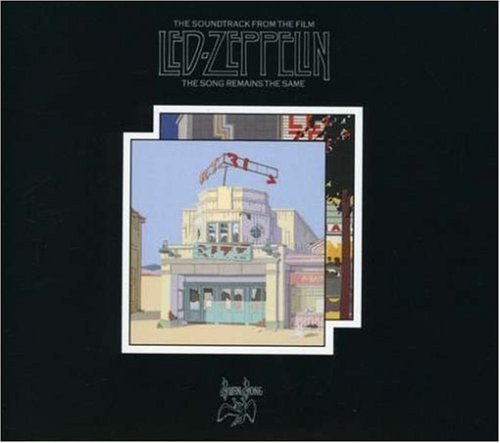 Original album cover of The Song Remains The Same (Remastered / Expanded) (2CD) by Led Zeppelin