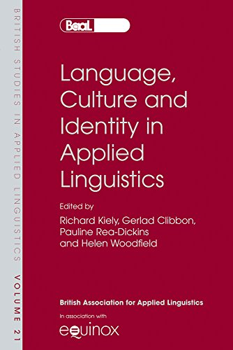 language and identity 19 language and identity : the handbook of sociolinguistics : blackwell reference  the link between language and identity is often so strong that a single feature of language use suffices to.