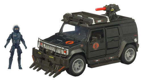 Buy Low Price Hasbro Gi Joe Movie Bravo Vehicle Steel Crusher H2 with Nitro Viper Figure (B001XQ0SKC)