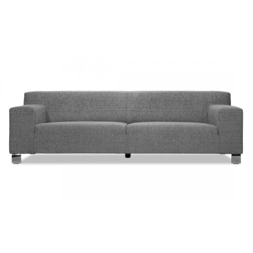 FASHION FOR HOME 3-Sitzer Sofa Marzio I Grau