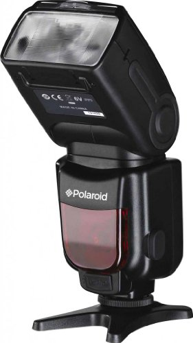 Polaroid Pl-190C Gn54 Wireless Ttl Auto Power Zoom Bounce & Swivel Flash With Lcd Display For The Canon Digital Eos M, Rebel Sl1 (100D), T5I (700D), T4I (650D), T3 (1100D), T3I (600D), T1I (500D), T2I (550D), Xsi (450D), Xs (1000D), Xti (400D), Xt (350D),