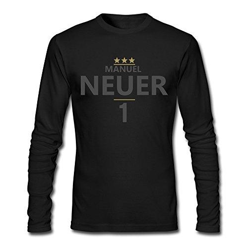 AOPO Men's Long Sleeve FC Bayern Munchen Manuel Neuer T-shirts