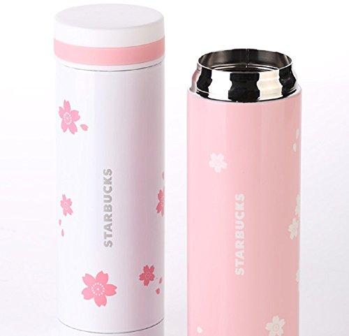 ☆海外限定品 Starbucksスターバックス さくら タンブラー ハンディー ステンレス ボトル 300ML ☆(並行輸入品) (ピンク)