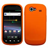 Orange Silicone Skin / Case / Cover for Samsung NEXUS S / GT-i9020T / Nexus S 4G from Google / D720