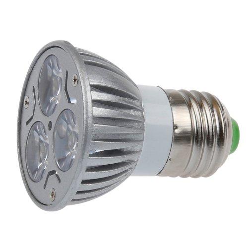 Lemonbest® High Power 6W E27 Base Led Spot Light Bulb Halogen Replacement, Warm White