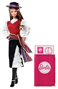 Barbie Collector # W3494 Dolls of the World Chile