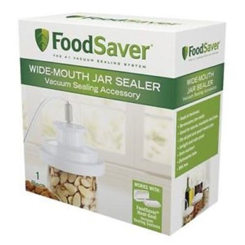 :FoodSaver Wide-Mouth Jar Sealer T03-0023-01, New For Wide Mouth Pint Quart & Gal:New by WW shop (Vacuum Sealer Jar Attachment compare prices)