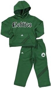 Adidas Youth Celtics Hooded Fleece & Pant Set by adidas