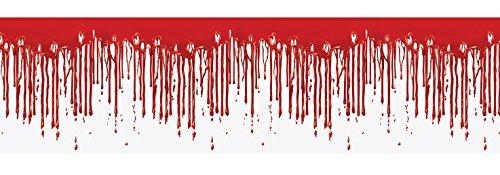 Beistle 00137 Dripping Blood Fridge Border, 15 x 5' (5 Ft Fridge compare prices)