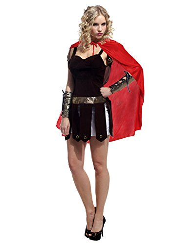 HDE Women's Sexy Naughty Roman Warrior Gladiator Goddess Halloween Party Costume