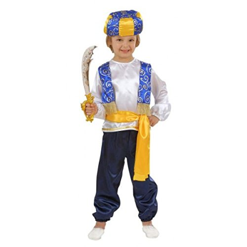 Children's Arab Prince Child Costume for Alladin Fairytale Fancy Dress