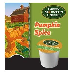 Green Mountain Coffee Fair Trade Pumpkin Spice K-Cups 80 Count Value Box front-641292