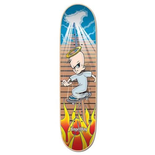 Amazon.com : Powell Angelboy Slider Angel Skateboard Deck (7.5 x 31