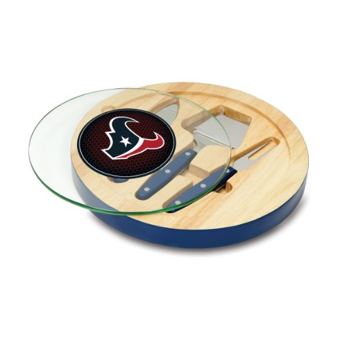 Nfl Houston Texans Navy Ventana Cheese Set