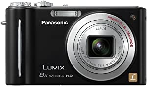 Panasonic Lumix DMC-ZR3 14.1 MP Digital Camera with 8x Optical Image Stabilized Zoom and 2.7-Inch LCD (Black)