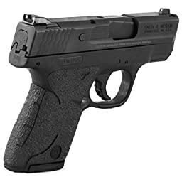 TALON Grips 705R for Smith and Wesson M&P Shield 9mm/.40, Black Rubber