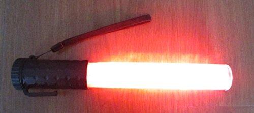 Baton de traffic signalisation lumineux rechargeable