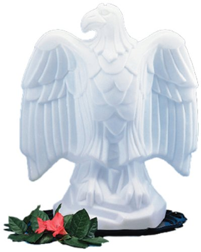 Carlisle SEA102 Ice Sculptures Polyethylene Eagle, 15-1/2 x 24 x 29