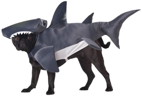 Animal Planet Pet20107 Hammerhead Shark Dog Costume, X-Small front-188436