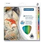 �STAEDTLER Watercolour Pencil, 24 Pac...