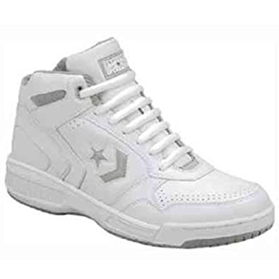 Converse Athletic Basketball BB White Hi Top Leather Wide Width Shoes 1u041 men's 65