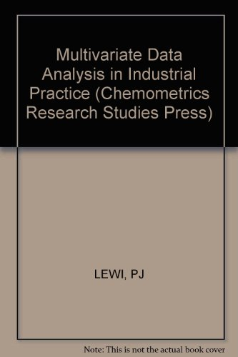multivariate-data-analysis-in-industrial-practice-chemometrics-research-studies-press