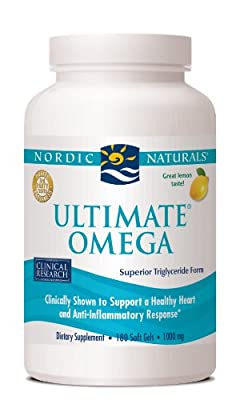 Nordic Naturals, Ultimate Omega, 1,000 mg Fish Oil, Soft Gels