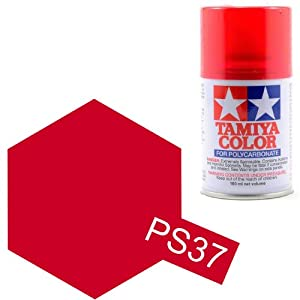 Tamiya Polycarbonate PS-37 Translucent Red Spray Paint