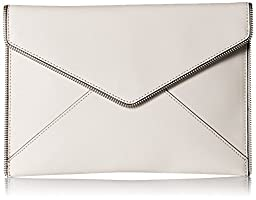 Rebecca Minkoff Leo Clutch, Putty, One Size