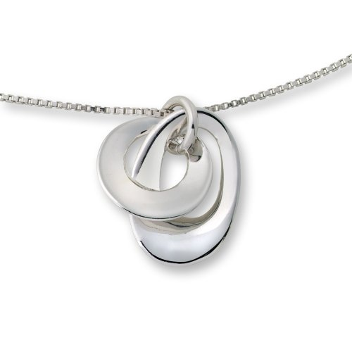 Silver Necklace, Sterling Silver Pendant, ByJoy,