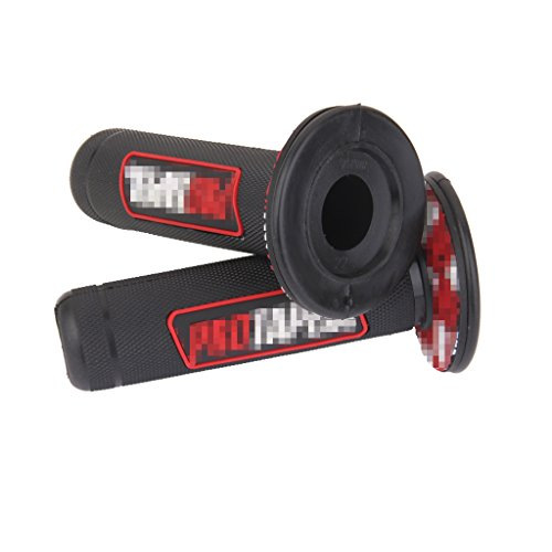 22mm-poignee-moto-velo-silicone-grip-couvre-housse-de-protection-7-8-rouge