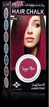 Splat Hair Chalk Sugar Plum 1 Each