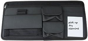 Craig Car Sun Visor Organizer Valet Caddy - Notepad, Wallet, Map Compartment, Sunglass or Eyeglass Holder