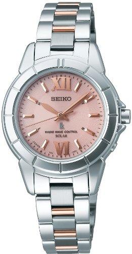 [セイコー]SEIKO 腕時計 LUKIA ルキア ソーラー 電波時計 SSVE037 レディース