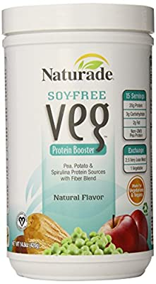 Naturade Veg Protein Booster Soy-Free Natural Flavor, 16 Ounce