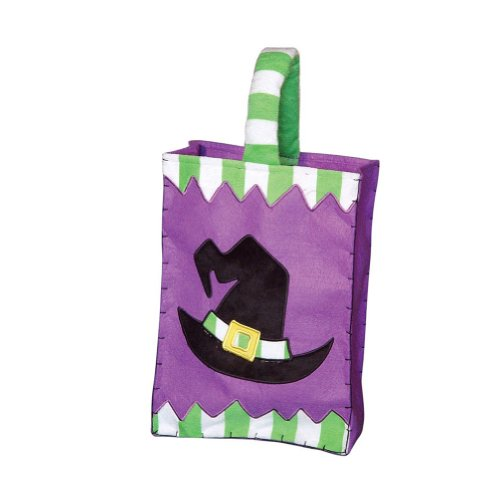 Halloween Trick or Treat Candy Bags Witch Hat Pattern