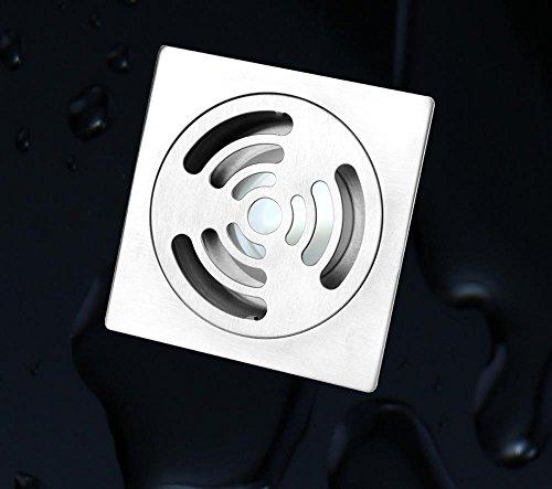 CU Drains de plancher de salle de bains à haute teneur en cuivre aux parasites et fuite d'odeur résistant à la corrosion de rouille