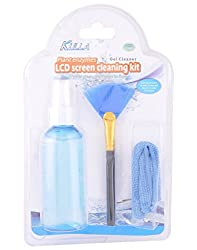Cables Kart Cleaning Kit 3 In 1 (Screen Cleaner Gel + Wonder Cloth + Brush) For Laptop/LCD/Tablet/Mobile/Camera/Lde Tv ETC