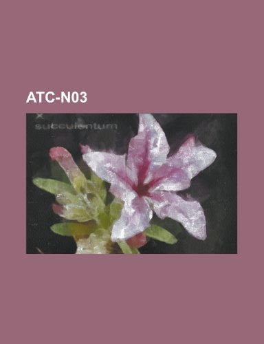 Atc-N03: Phenobarbital, Sultiam, Carbamazepin, Valproins Ure, Topiramat, Lamotrigin, Gabapentin, Lacosamid, Zonisamid, Clonazep