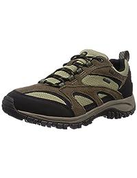 Merrell mens Merrell Mens Phoenix Goretex Waterproof Breathable Walking Shoes Green Suede