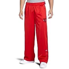 NBA Chicago Bulls Red Digital Single-Zip Pant by Zipway