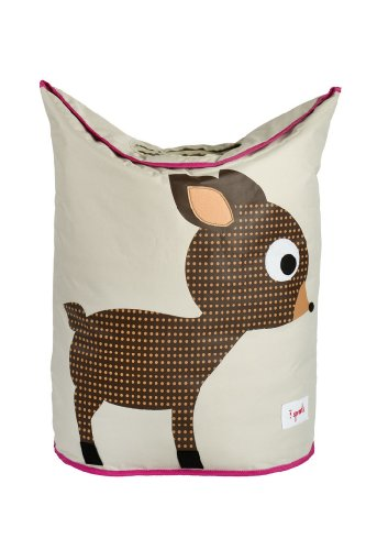 Great Features Of 3 Sprouts Laundry Hamper, Brown Deer