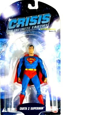 Picture of DC Direct Crisis on Infinite Earths Series 2: Earth 2 Superman Action Figure (B000N5XX88) (Superman Action Figures)