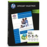 HP 933XL Value Pack - CR711AE - print cartridge / paper kit - 1 x yellow, cyan, magenta - for Officejet 6100 ePrinter, 6600 H711a, 6700 Premium H711n, 7110 Wide Format ePrinter