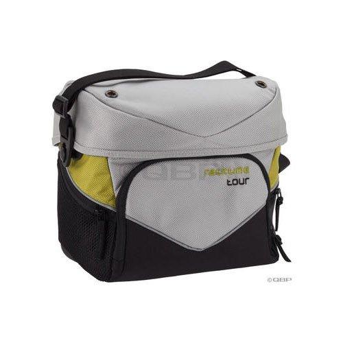 Racktime Barit Handlebar Bag: Silver