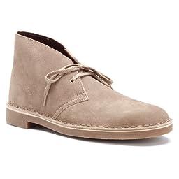 Clarks Men\'s Bushacre 2 Boot,Sand Suede,13 M US