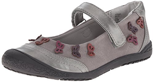 Jumping Jacks Autumn Casual Mary Jane (Toddler/Little Kid), Pewter Suede Pewter/Pewter Metallic/Multi Trim, 29 EU/29 M US Little Kid (Jack And Jane Shoes compare prices)